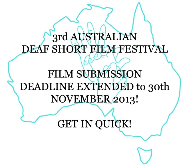 Deadline extended to 30th Nov!