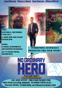 No ordinary hero poster